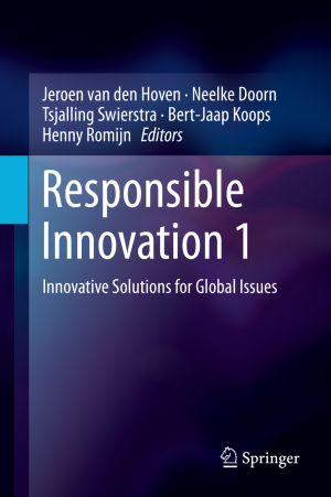 Cover_Responsible Innovation 1 Volume_Van den Hoven